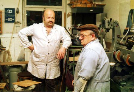 Lothar Weger und Vater Josef